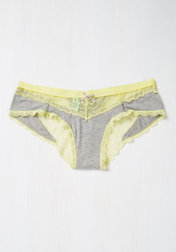 Saturday Morning Starlet Panties in Buttercup