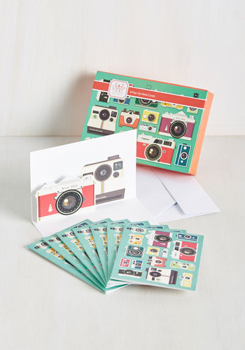 Point and Shoot the Breeze Notecard Set