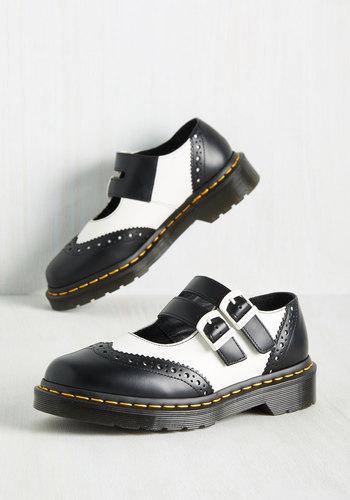 1950s Rockabilly Dresses Pick Your Saddles Flat $124.99 AT vintagedancer.com