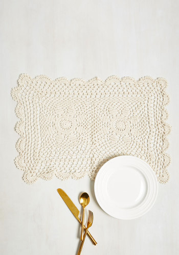 On the Doily Place Mat