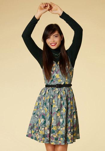 To Thrill a Mockingbird A-Line Dress