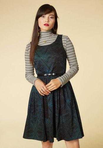 Classic Times, Classic Measures A-Line Dress