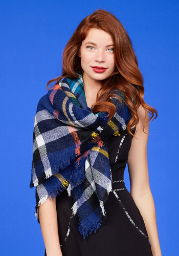 Willamette for the Weekend Scarf in Berry
