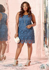 All I Ever Flaunted Lace Dress in Dusk