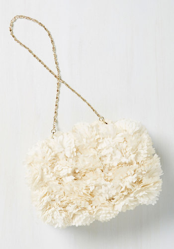 Brings You to Your Peonies Clutch