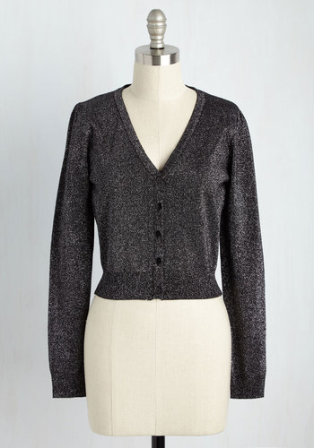 1950s Style Sweaters, Crop Cardigans, Twin Sets Glam Affair Cardigan $44.99 AT vintagedancer.com