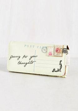 Just Keeps Getting Letter Wallet