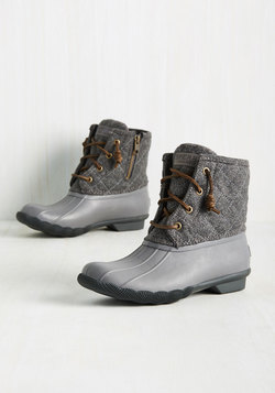 Fine Weather for Luxe Boot in Grey