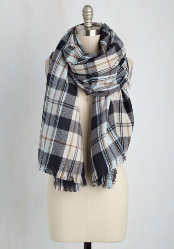 Planes, Trains, and Head Over Heels Scarf