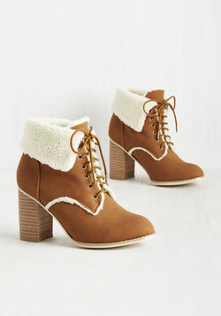 With Open Warms Bootie
