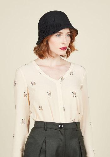 Hold Me Cloche Hat $29.99 AT vintagedancer.com