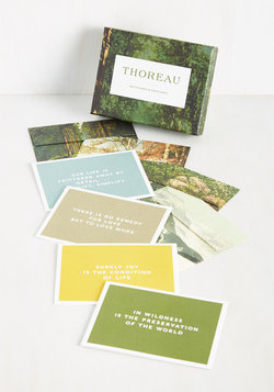 An Eloquent Existence Card Set