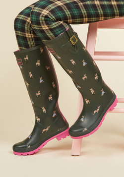 Splash the Time Rain Boot in Frenchies