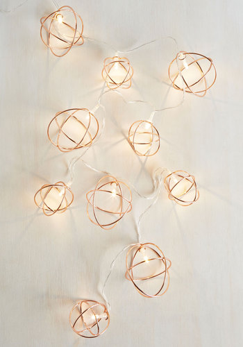 What Brings You Sphere? String Lights