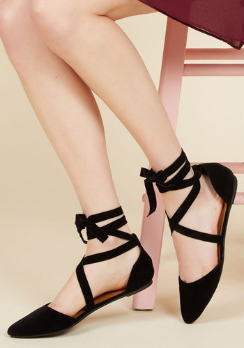 1940sStyleShoes If I dOrsay So Myself Flat $34.99 AT vintagedancer.com