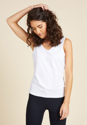 Relevant Elements Camisole in White