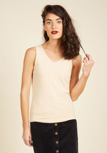Relevant Elements Camisole in Beige