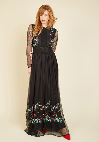 ModernVintageEveningDressesandFormalEveningGowns Adore Your Aura Dress $149.99 AT vintagedancer.com