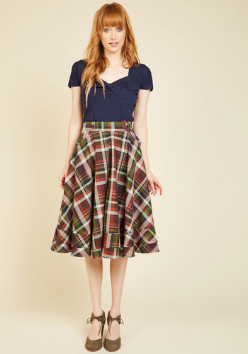 Peckham Order Midi Skirt