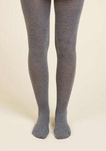 Snuggle the Fun Tights - Grey, Solid, Fall, Winter, Better, Basic, Variation