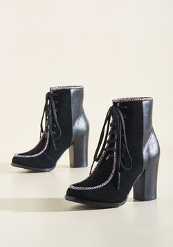 Heel Right at Home Suede Bootie