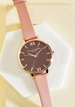Undisputed Class Watch in Petal & Rose Gold - Big