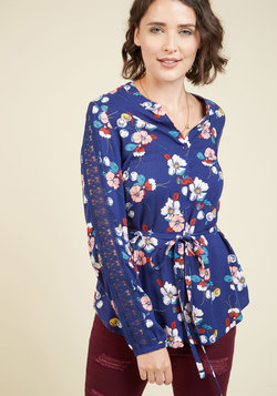 Word of Blouse Button-Up Top