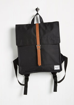 Thoroughfare and Square Backpack in Black