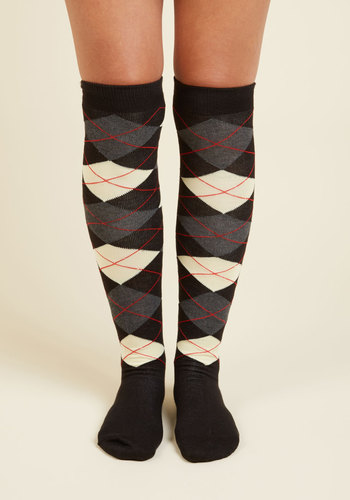 Taking Things Study Thigh Highs $14.99 AT vintagedancer.com