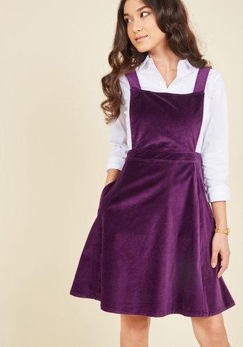 1960s Plus Size Dresses & Retro Mod Fashion Cupcake Consultant Jumper $79.99 AT vintagedancer.com