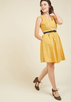 Zest of the Bunch Dress