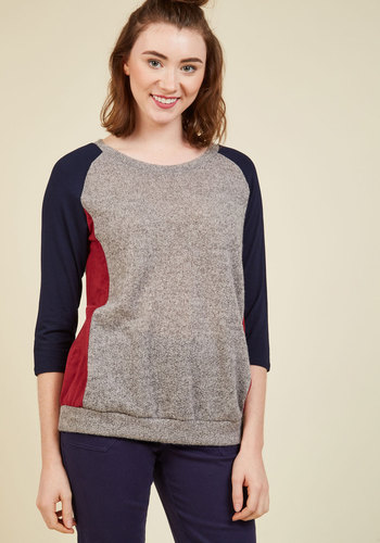 Game Time Gathering Knit Top