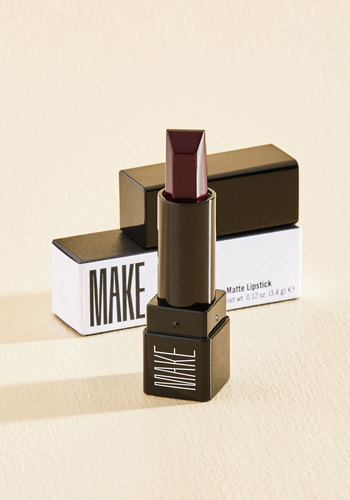 Look Rouge Talkin' Matte Lipstick in Wine by MAKE - Red, Party, Cocktail, Pinup, Vintage Inspired, Statement, Fall, Better