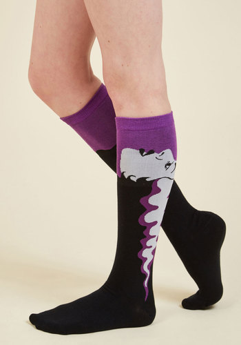 Nice Day for a Fright Wedding Socks