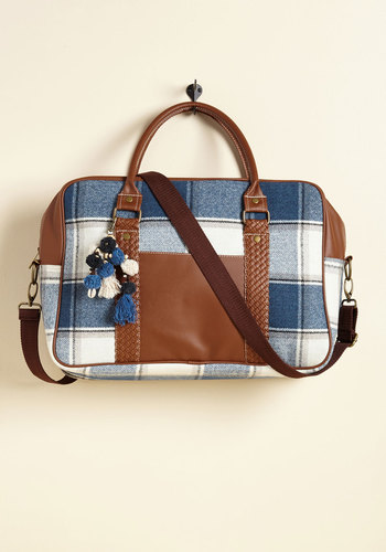 Always Got Your Pack Weekend Bag in Plaid
