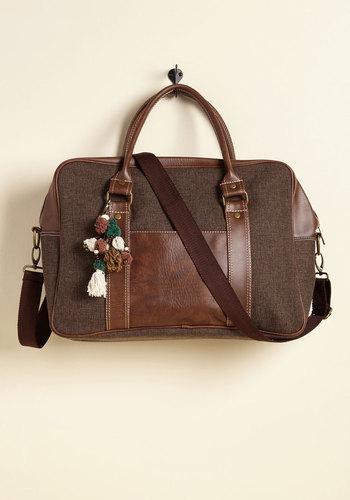 Always Got Your Pack Weekend Bag in Tweed