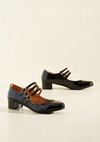 All Tapped Out Heel in Black $49.99 AT vintagedancer.com