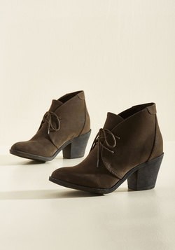 One Thing Leaps to Another Bootie
