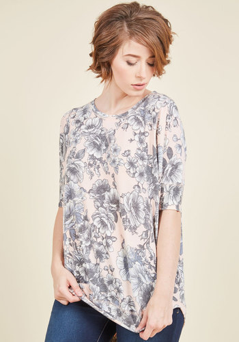 Best of Botanical Top in Blush