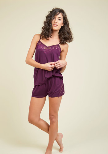 Snooze and Ahhs Pajamas in Sangria - Red, Solid, Lounge, Better, Variation, Knit, Best Seller, Best Seller