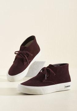 Park Raving Glad Suede Sneaker