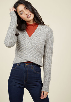 Wouldn't Knit Be Nice? Sweater in Smoke