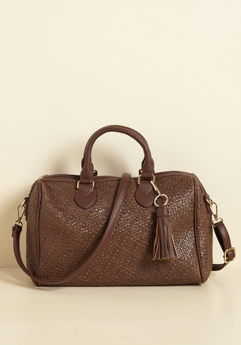 Had a Haul of a Time Bag - Best Seller, Best Seller, Brown, Woven, Work, Casual, Minimal, Fall