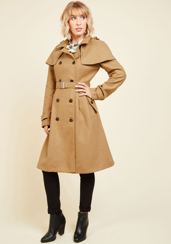 New 1940s Style Coats and Jackets for Sale Wear You Want to Be Coat $149.99 AT vintagedancer.com