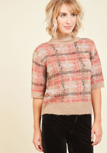 1940s Style Sweaters and Knit Tops Nestle With the Idea Sweater $59.99 AT vintagedancer.com
