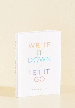 Write It Down, Let It Go Journal