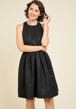 Free and Speakeasy A-Line Dress