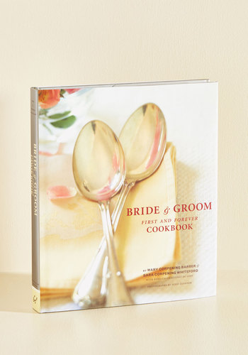 Bride Groom First and Forever Cookbook