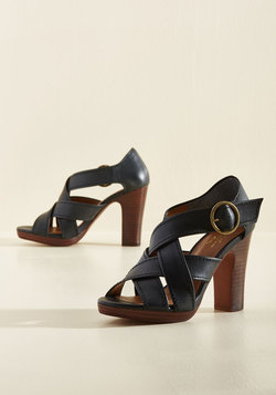 Route Leather Heel