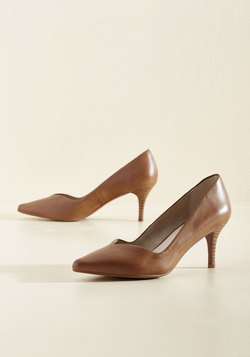 Leap Leather Heel